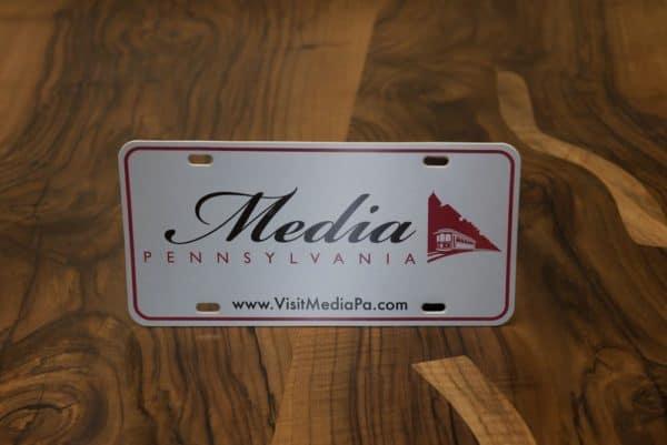 Decorative License Plate